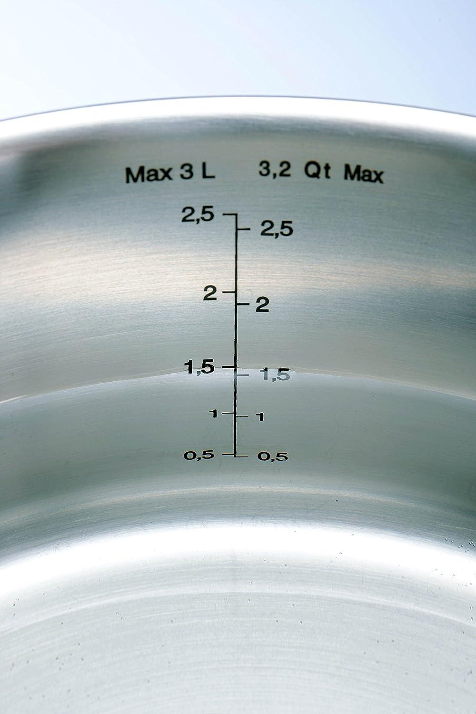 Tefal C972S544 Bater/ía de Cocina 5 Piezas Acero Inoxidable Plateado