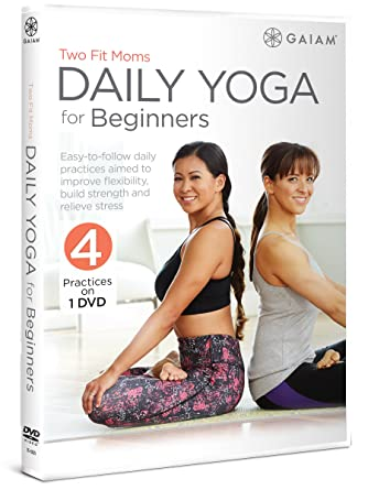 Amazon.com: Two Fit Moms Daily Yoga For Beginners: Laura ...
