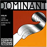 Thomastik Dominant 4/4 Violin String Set - Medium Gauge - Steel Ball-End E
