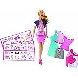 Barbie 芭比 娃娃玩具 芭比百变随心印BDB32