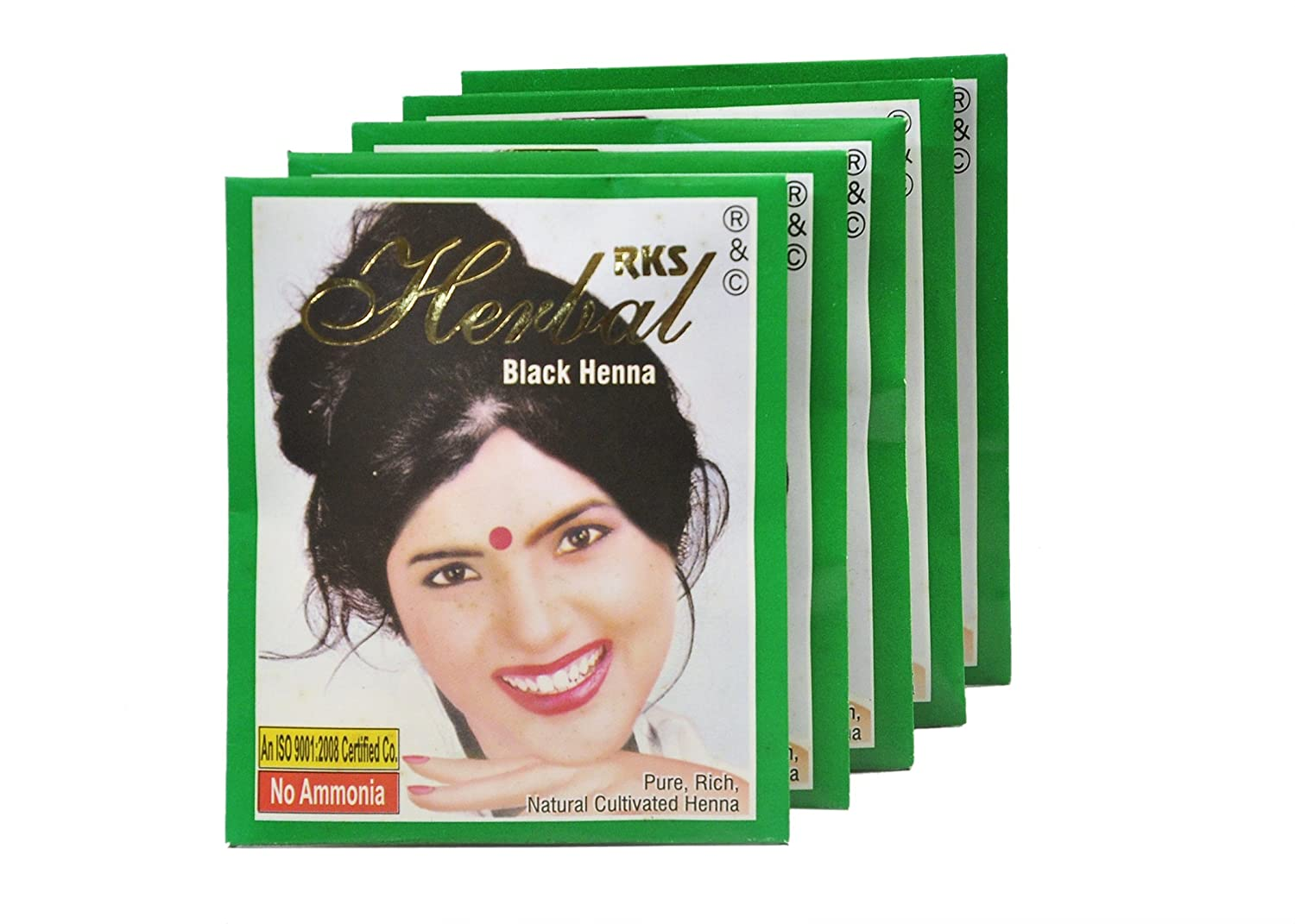 bdad0f156 Buy RKS Herbal Black Henna (PACK OF 2 BOX) Online at Low Prices in India -  Amazon.in