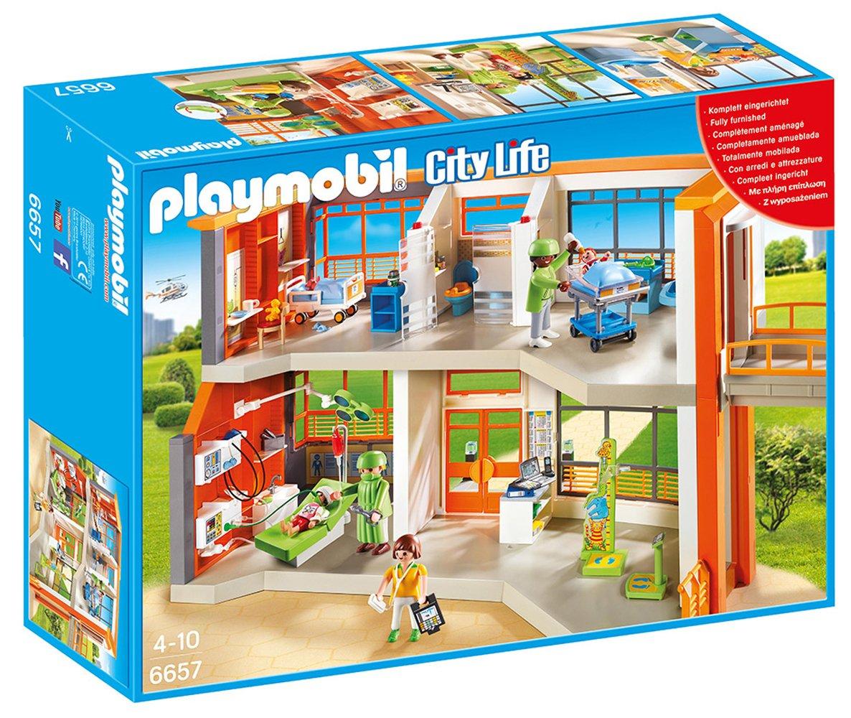 PLAYMOBIL® Furnished Children's Hospital
