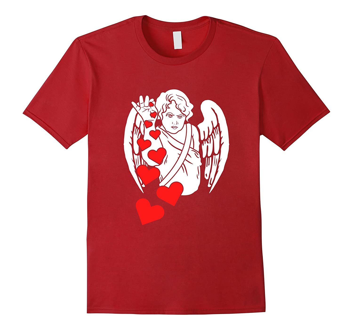 Funny Valentine's Day T-shirt Love Matching Couples Gift