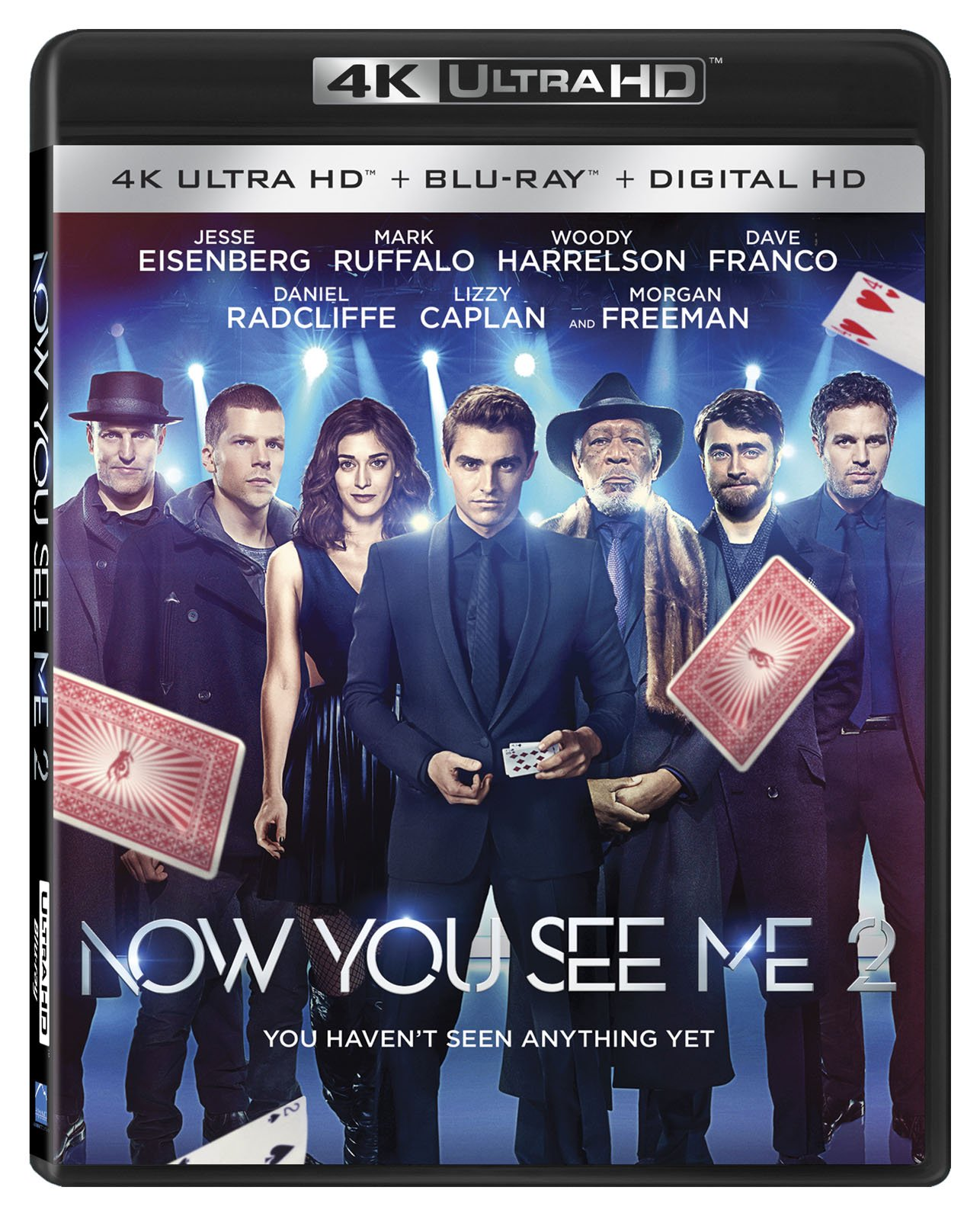 4K Blu-ray : Now You See Me 2 (With Blu-Ray, 2 Disc)