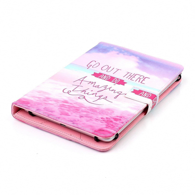 Google Nexus y m/ás de 6,5 Apple iPad - Funda Universal para Tablet Samsung Galaxy Tablet Dteck 10,5 Pulgadas Kindle TM