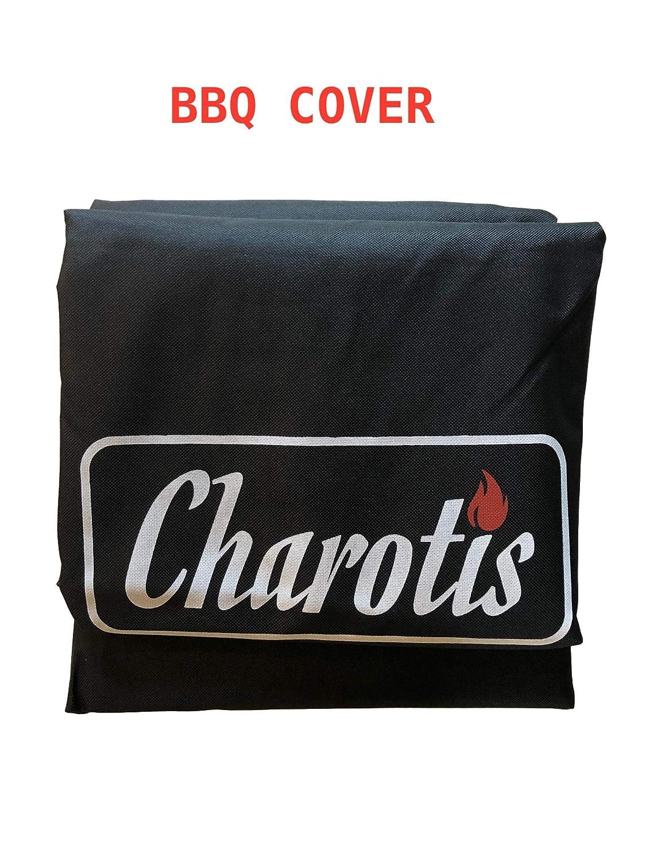 Amazon.com : Charotis Charcoal Spit Roaster, 60W Motor, 100% Stainless Steel BBQ rotisserie for Whole Pig, Lamb, Goat - Model SSH1-DX : Garden & Outdoor