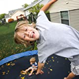 Kangaroo Hoppers Trampoline with Safety