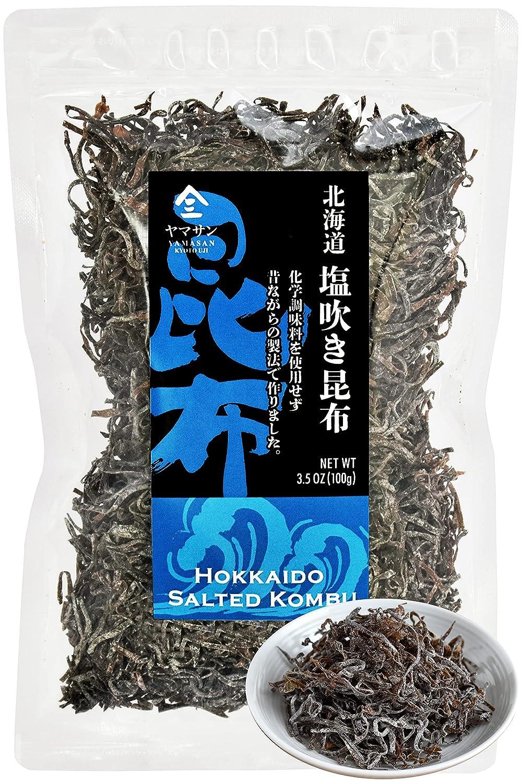 Kombu Salted -Hokkaido seaweed 100%, No Chemical Additive, Japanese traditional superfood