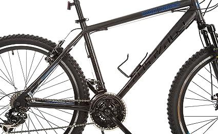 d9a6d64b2f5 Amazon.com : Titan Dark Knight Aluminum Suspension Men's Mountain Bike with  Disc Brake, Matte Black, 21-Speed : Sports & Outdoors