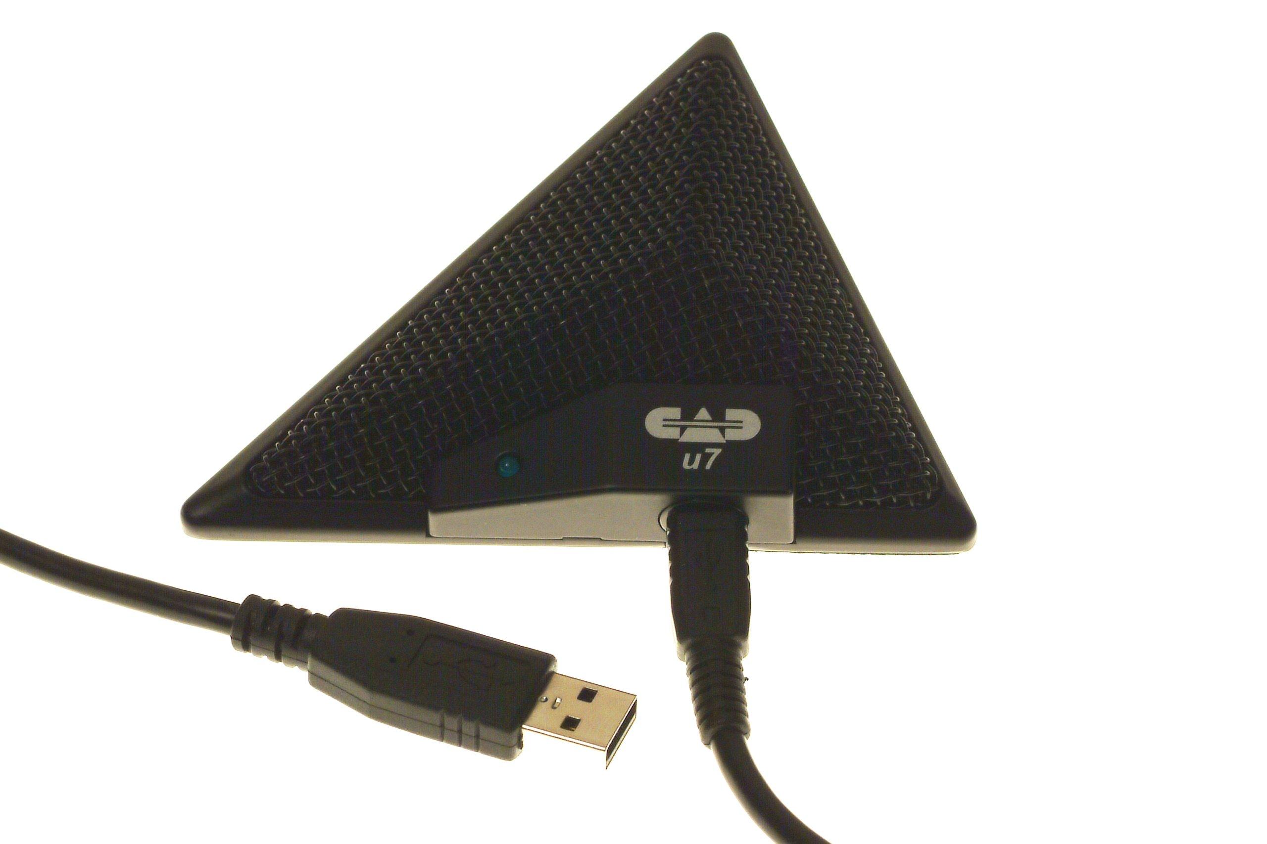 CAD Audio USB U7 Boundary Omnidirectional Condenser Microphone