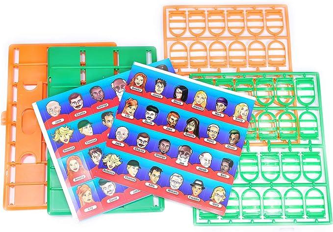 M.y Whodunit misterio de la cara Juego de adivinar: Amazon.es: Juguetes y juegos