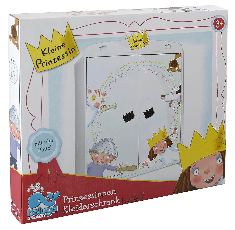 Beluga Spielwaren 66000 - Kleine Prinzessin Kleiderschrank für ...