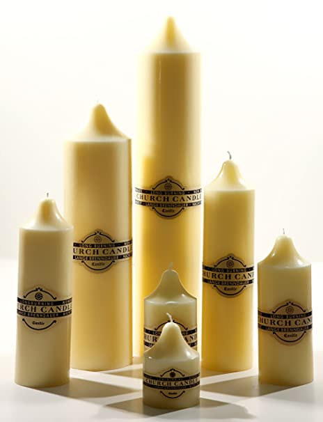 Jumbo Altar CM Church Candle 50 Burning time approx  300 hours