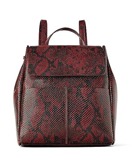 d09ea544 Zara Women's Animal print backpack 2024/004: Amazon.co.uk: Clothing