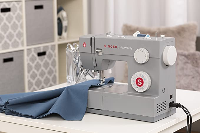 Amazon SINGER Heavy Duty 40 Sewing Machine With 40 BuiltIn Mesmerizing Singer 5554 Heavy Duty Sewing Machine