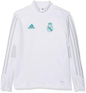 adidas TRG Top Y Sudadera Línea Real Madrid, niños, Rojo (Blanco/gricla), 140: Amazon.es: Deportes y aire libre