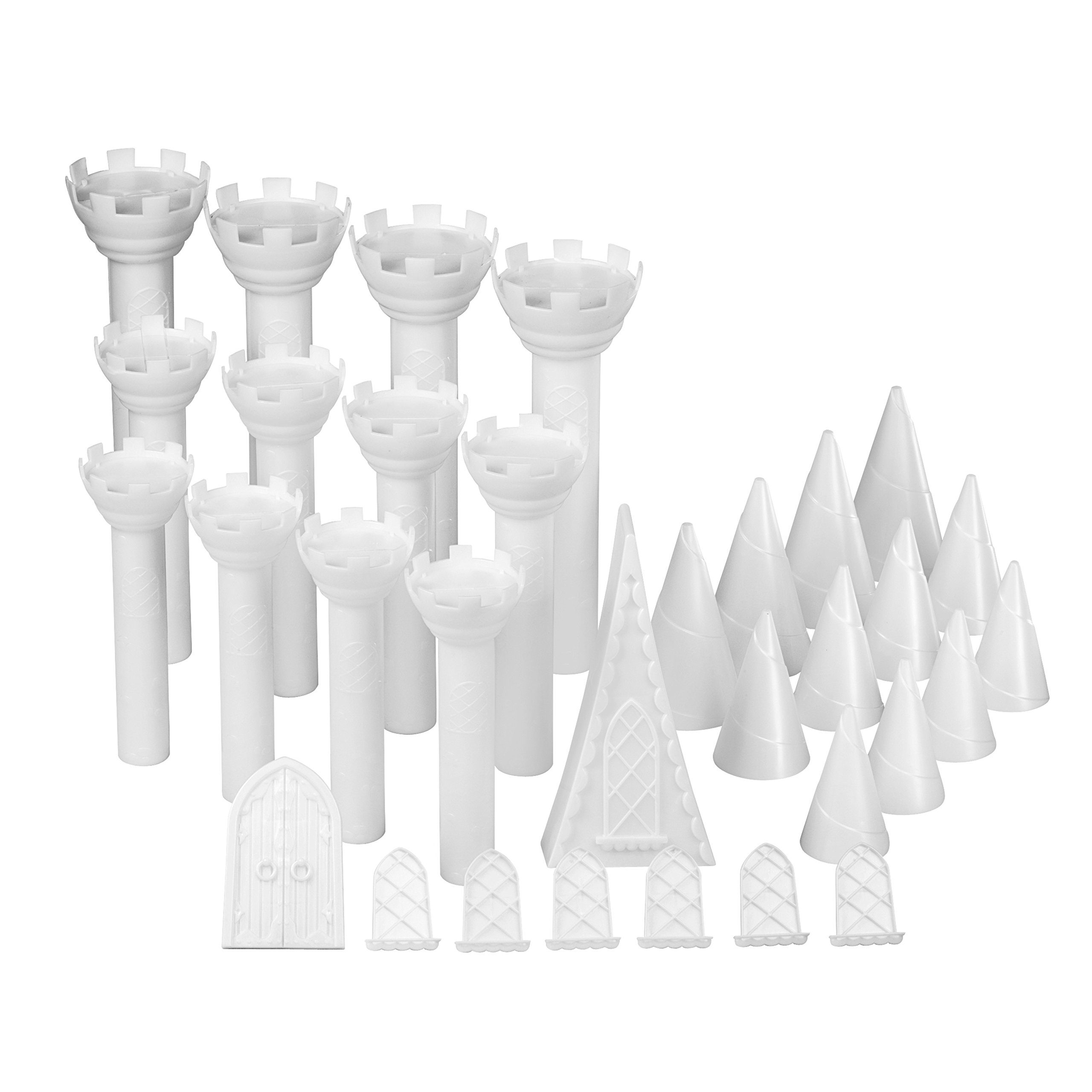 Wilton Castle Cake Pan Set, 32-Piece