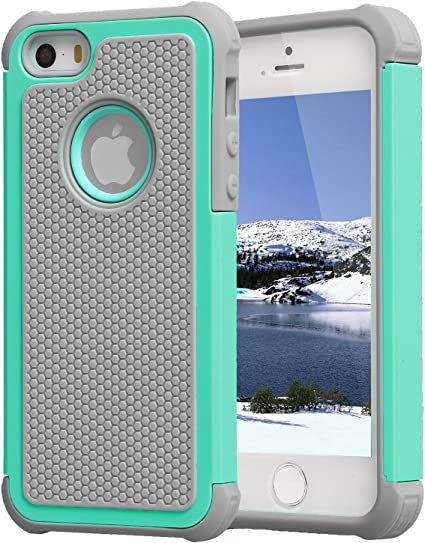 iPhone 5 Case,iPhone 5S Case,Agrigle Shock- Absorption / High ...