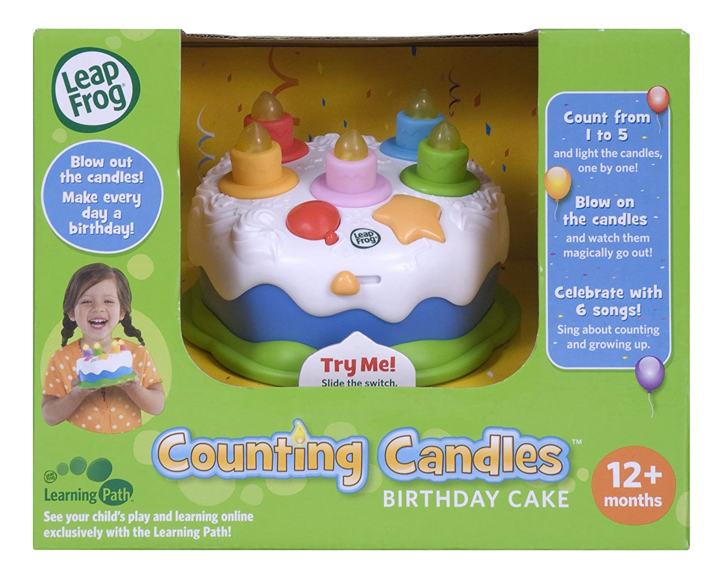 Leapfrog Counting Candles Birthday Cake Ebay