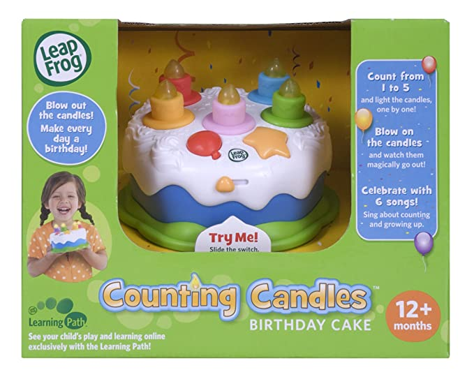 Amazon Leapfrog Counting Candles Birthday Cake Toys Games