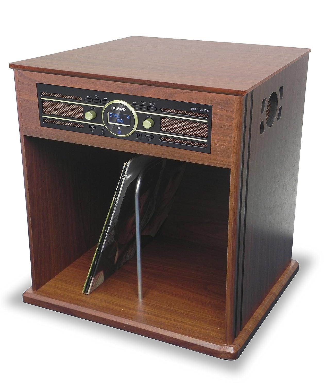 TD104 - Mueble y Tocadisco de 2 velocidades (33 y 45 RPM ...