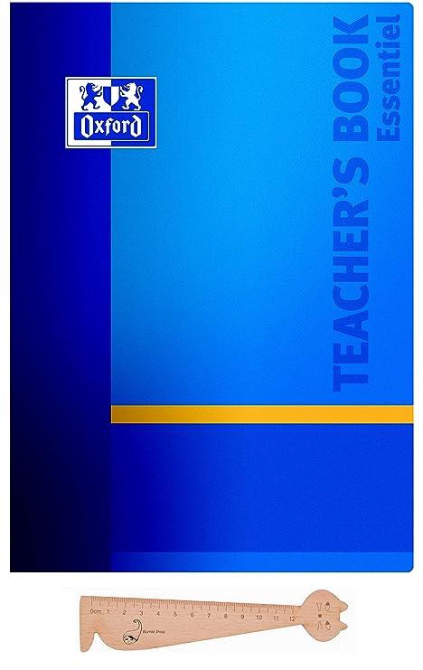 Oxford - Agenda del profesor, azul, septiembre 2017 - agosto ...