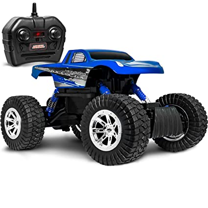 Amazoncom Sharper Image Rc All Terrain Monster Rockslide Truck