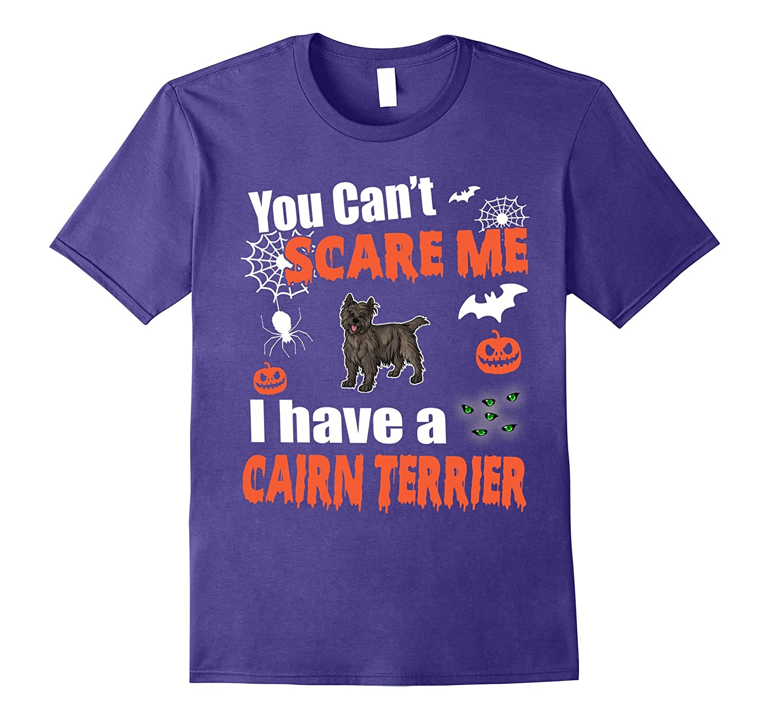 You Can't Scare Me I Have A Cairn Terrier Halloween Shirt-CL