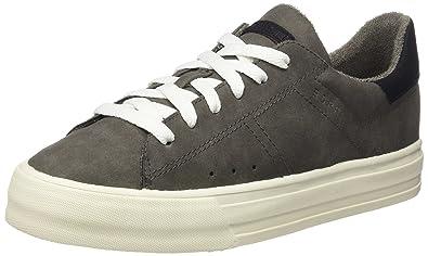 Esprit Elda Lace Up, Sneakers Basses Femme, Noir (Black), 38 EU