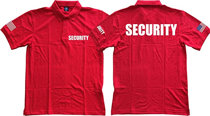 Gs-eagle for Mens Printed Security Polo Shirt
