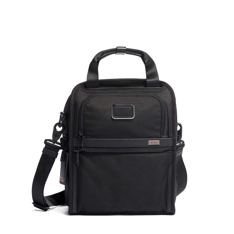 TUMI – Alpha 3 Medium Travel Tote – Satchel Crossbody Bag for Men and Women – Black