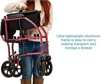 Amazon.com: NOVA Medical Products silla de ruedas de ...