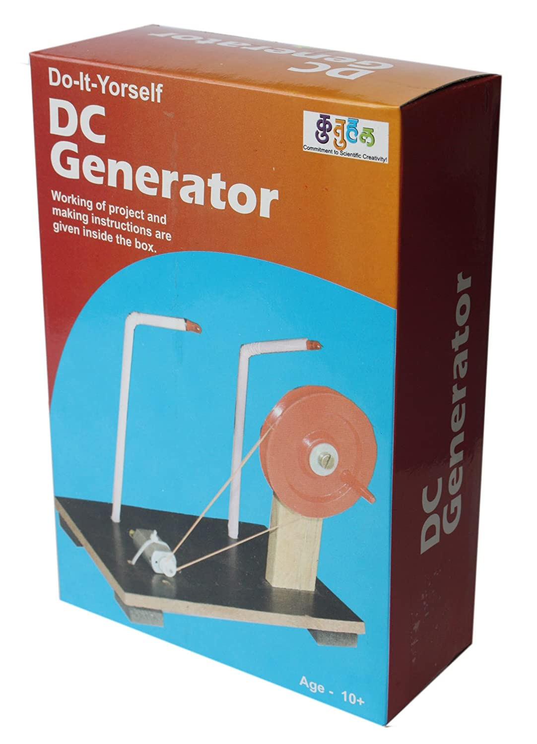 Buy Do It Yourself Dc Generator Electricity Educational Learning Toy Audio Is Controlled By Light Electronic Projects Kit Online At Low Prices In India