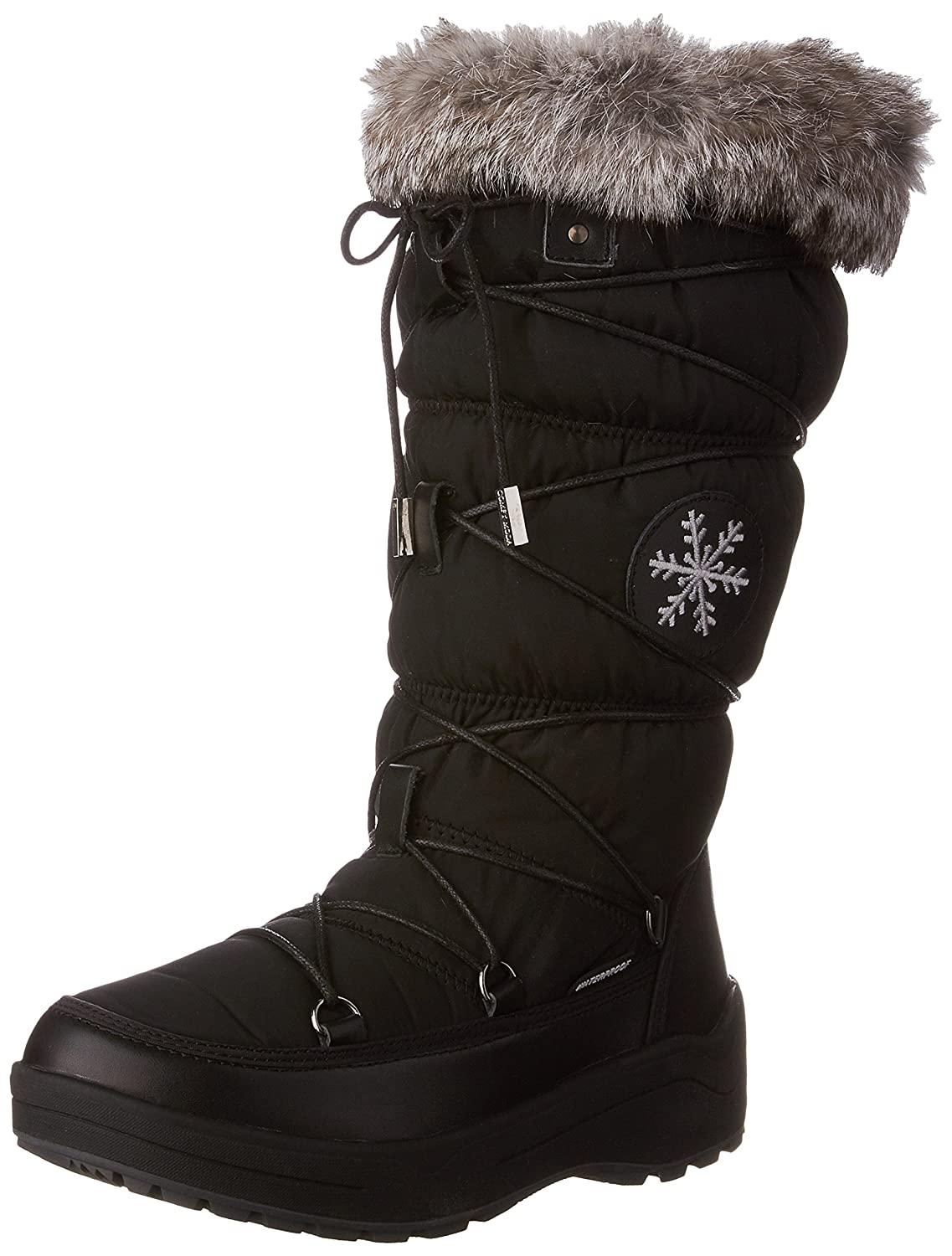 31bd3c9fd5ebd 50%OFF Comfy Moda Women's Winter Snow Ice Boots Leather ...