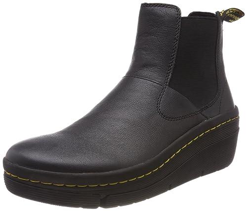 niedrigster Rabatt Discounter Qualität und Quantität zugesichert Dr.Martens Womens Brienna Black Leather Boots 8.5 US: Amazon ...