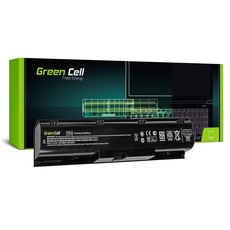 Green Cell/® Standard Serie PR08 HSTNN-IB2S HSTNN-LB2S 633807-001 Bater/ía para HP ProBook 4730s 4740s Ordenador 8 Celdas 4400mAh 14.4V Negro