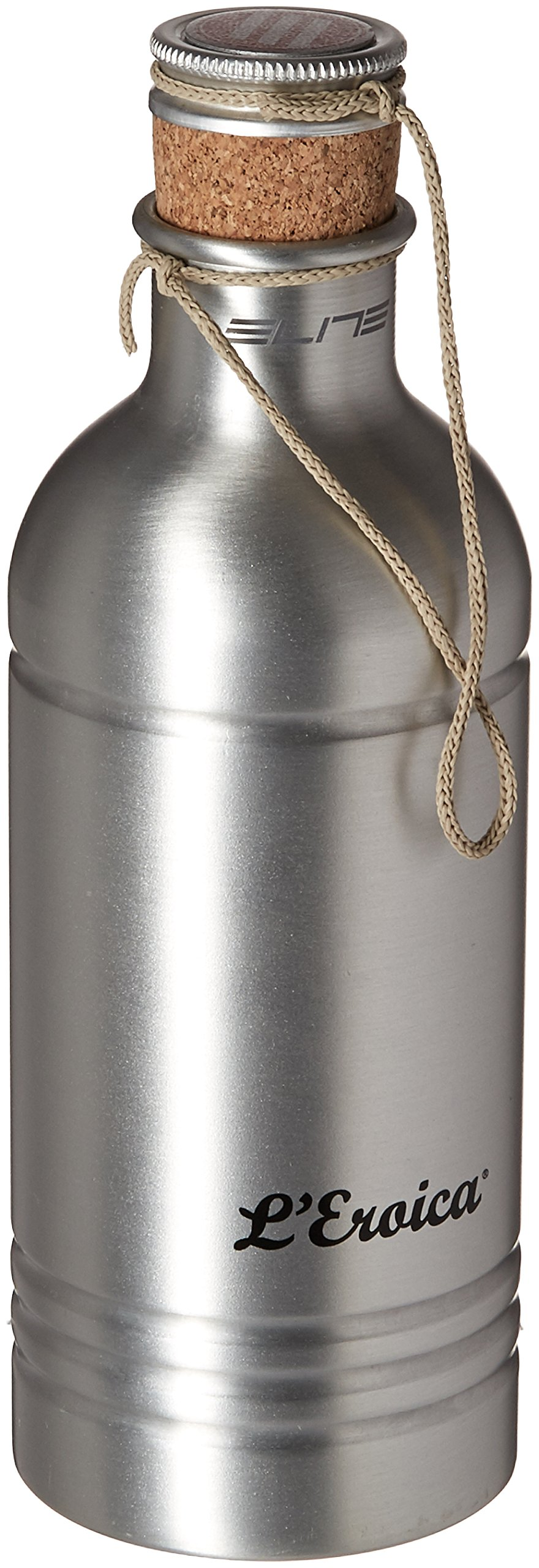 Elite 0150201 Eroica Water Bottle, 600ml, Silver by Elite