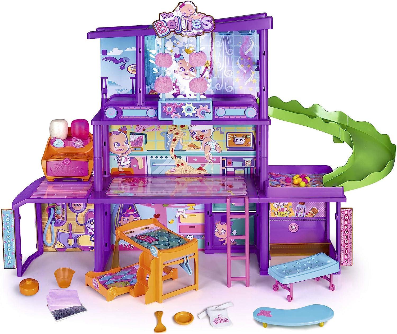 The Bellies - Bellie'S House, Casa de Los Bellies para Niños y Niñas a Partir de 3 Años, Multicolor, (Famosa 700015271)
