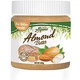 Alpino Unsweetened Natural Almond Butter, 250g