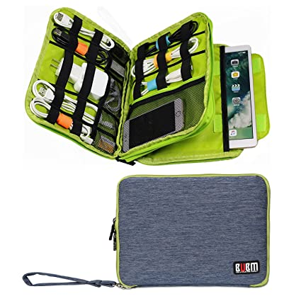 e4f45906e4 Amazon.com   BUBM Handbag Double Layer Travel Cable Cord Gadget Gear ...