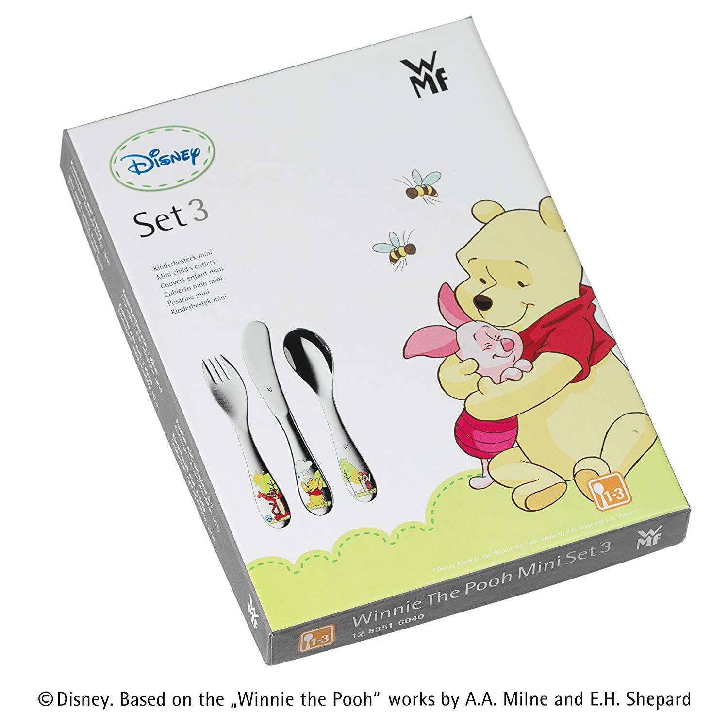 Amazon.com: WMF Childrens Cutlery Mini Disney Winnie the Pooh, 3 Pieces, 1283516040: Toys & Games