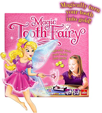 Goliath 0230 The Magic Tooth Fairy Fun Board Game For Young Children