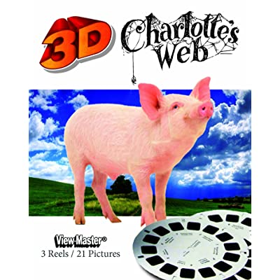 ViewMaster Charlotte's Web - 3 Reel Set: Toys & Games