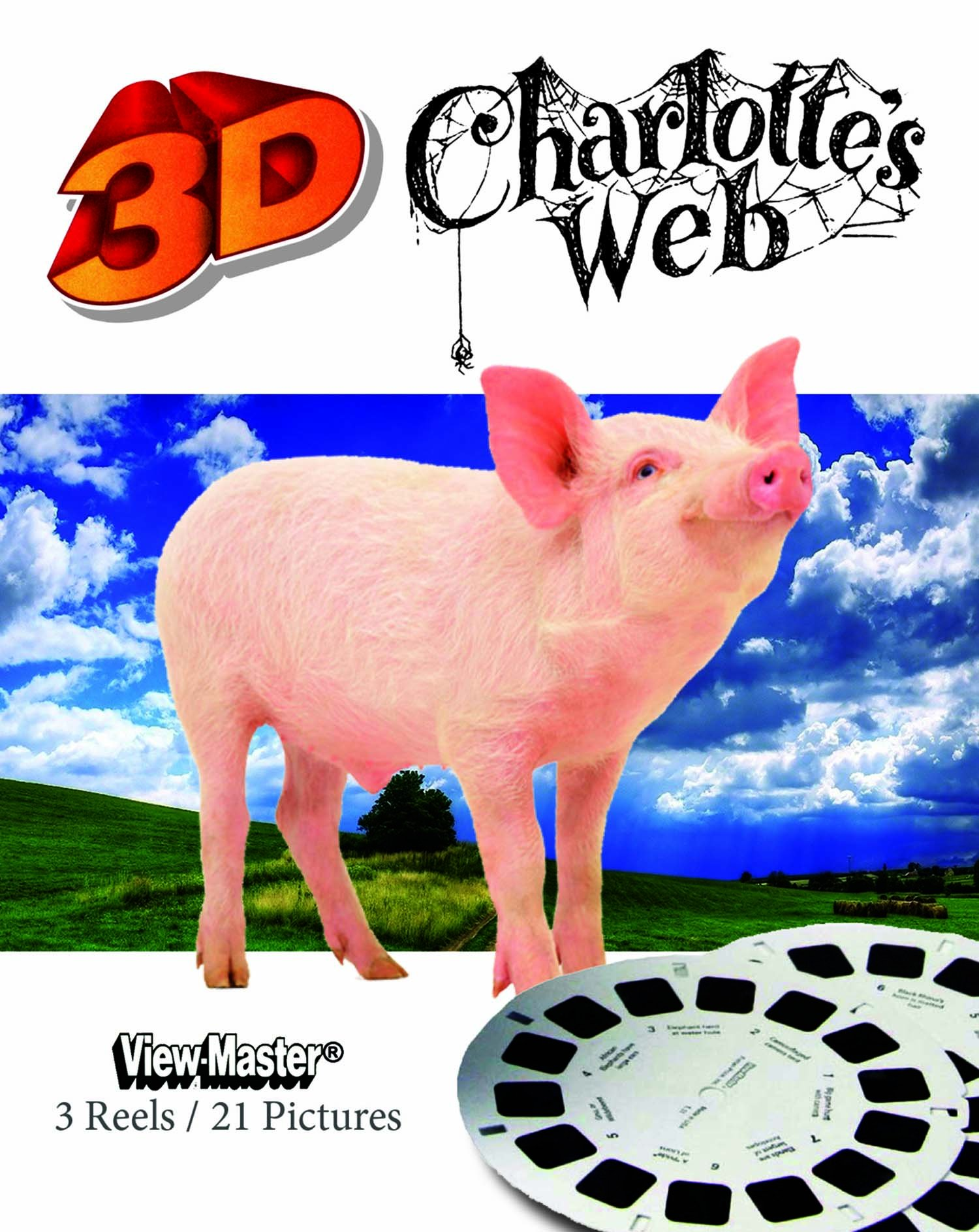 ViewMaster Charlotte's Web - 3 Reel Set by View Master
