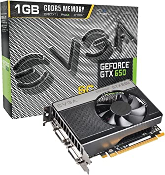 Amazon.com: EVGA GeForce GTX 650 Superclocked 1024 MB GDDR5 ...