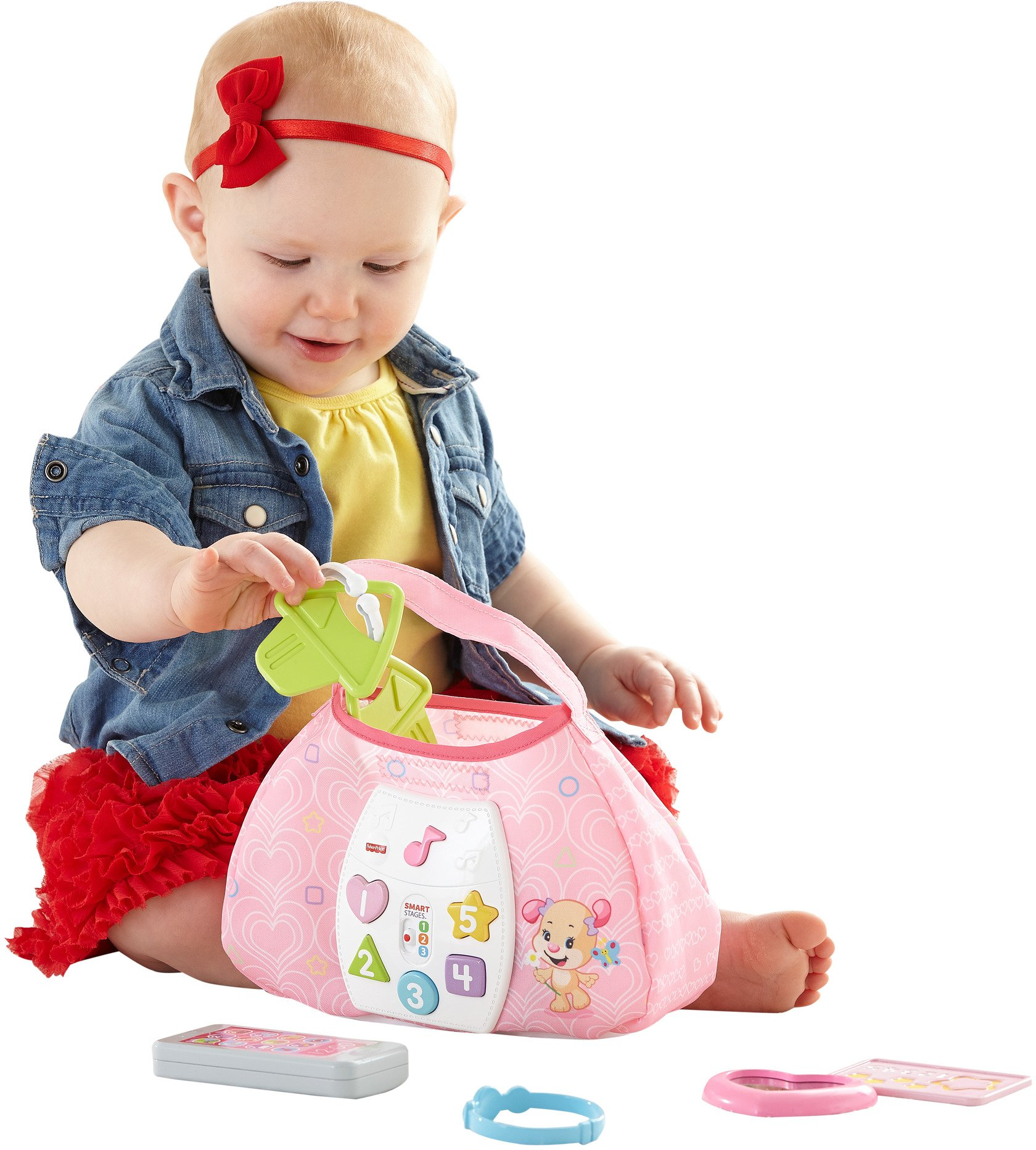 Fisher-Price Laugh & Learn Sis' Smart Stages Purse by Fisher-Price (Image #2)