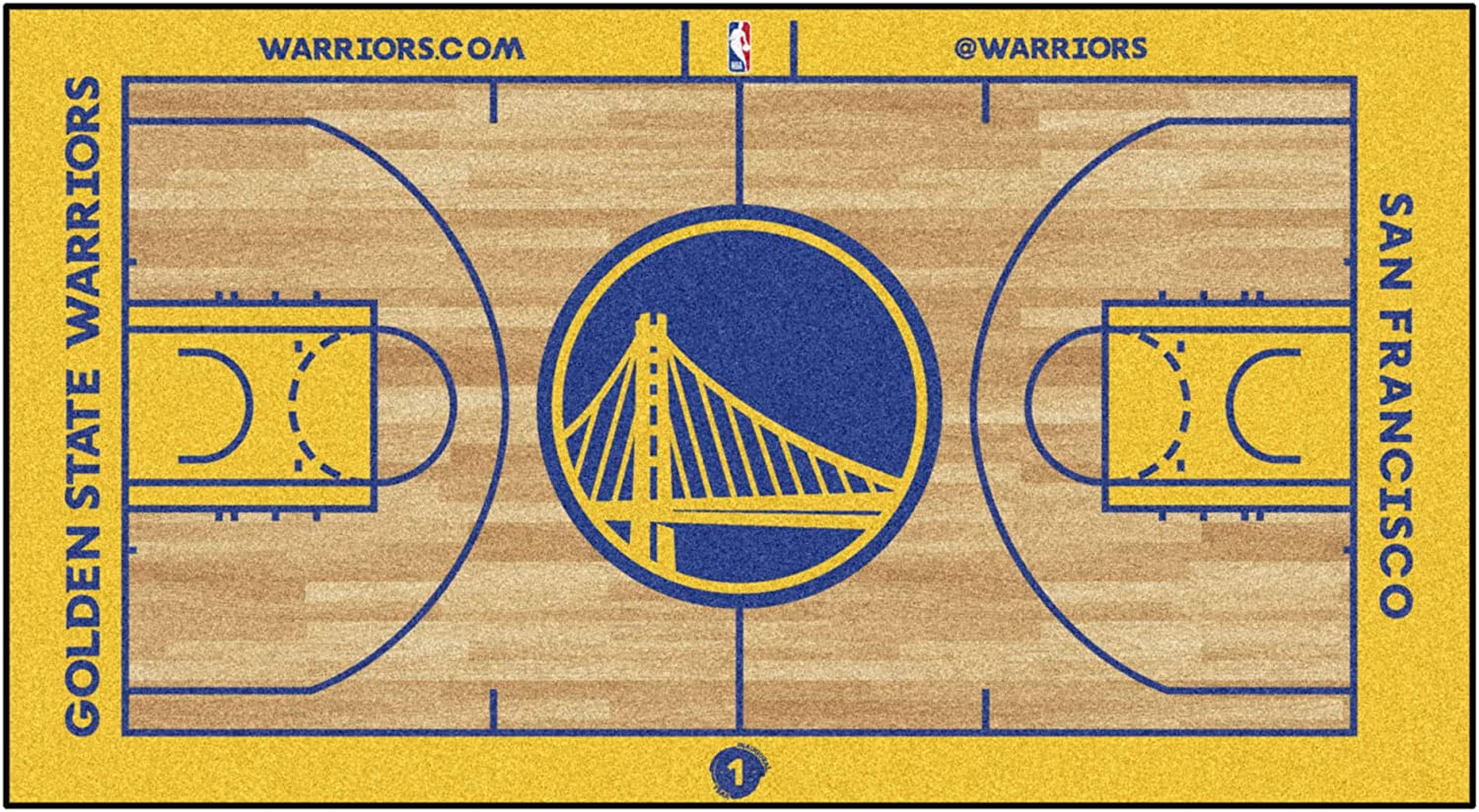 FANMATS NBA Mens NBA Court Runner