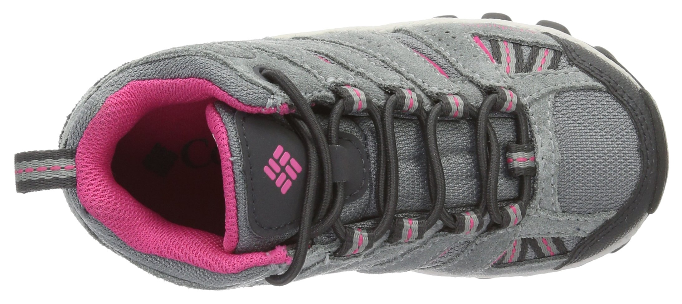 Columbia Childrens North Plains MID Waterproof Hiking Boot Grey Ash/Ultra Pink 11 M US Little Kid by Columbia (Image #7)