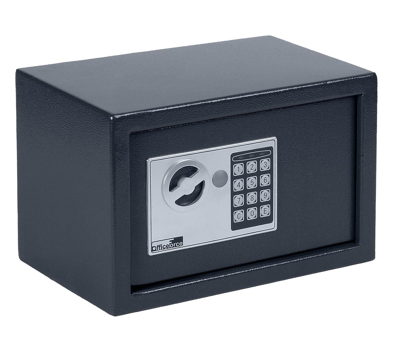 OfficeForce® Wandtresor 500 mit digitalem Zahlenschloss/Codeschloss, Safe, Tresor, Geldschrank, Stahlschrank, Geldsafe, Geldtresor, Panzerschrank, Dokumententresor, Möbeltresor (20107) ProfiOffice