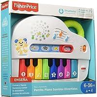 Fisher-Price Rie y Aprende Infantil Perrito Piano Sonidos divertidos 6m-36m Gfx33